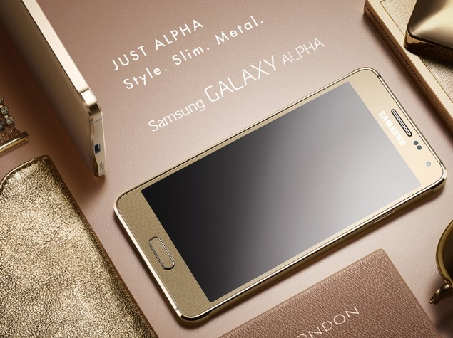 Samsung alfa kaina