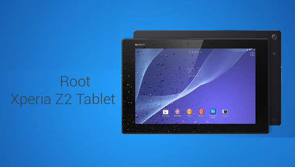 Sony Xperia Z2 Tablet root