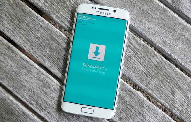 Galaxy S6 Edge download mode